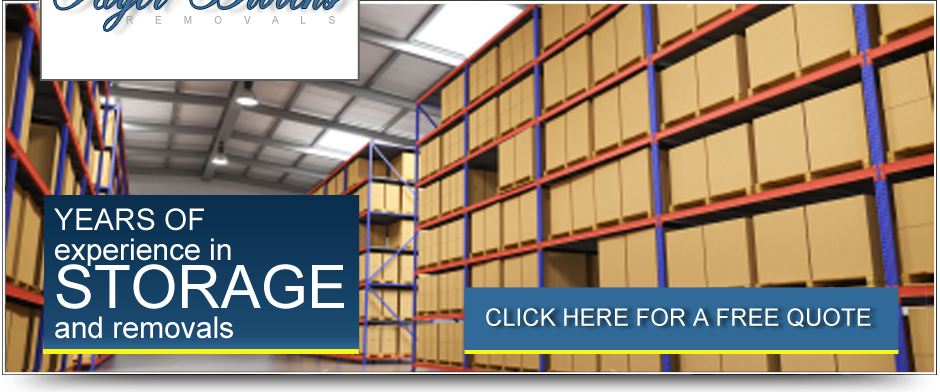 Years of experience in storage and removals